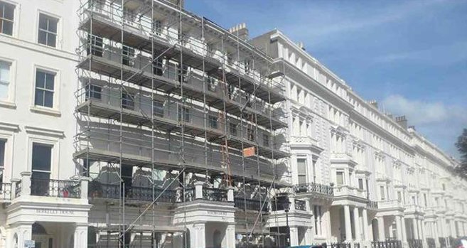 scaffolding in Eastbourne